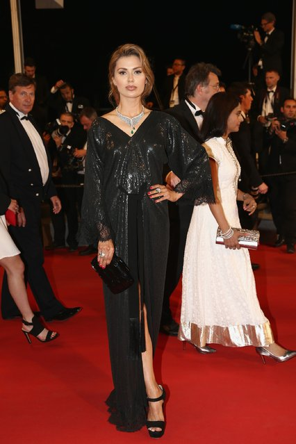 """Viktoria Bonya attends the """"Chronic"""" Premiere during the 68th annual Cannes Film Festival on May 22, 2015 in Cannes, France. (Photo by Andreas Rentz/Getty Images)"""