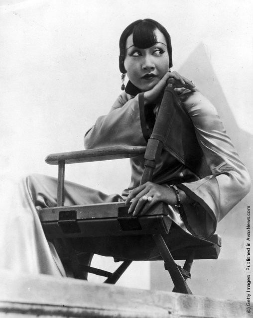 1935:  Chinese-American film star, Anna May Wong