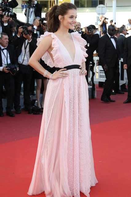 "Barbara Palvin attends the ""Julieta"" premiere during the 69th annual Cannes Film Festival at the Palais des Festivals on May 17, 2016 in Cannes, France. (Photo by Andreas Rentz/Getty Images)"
