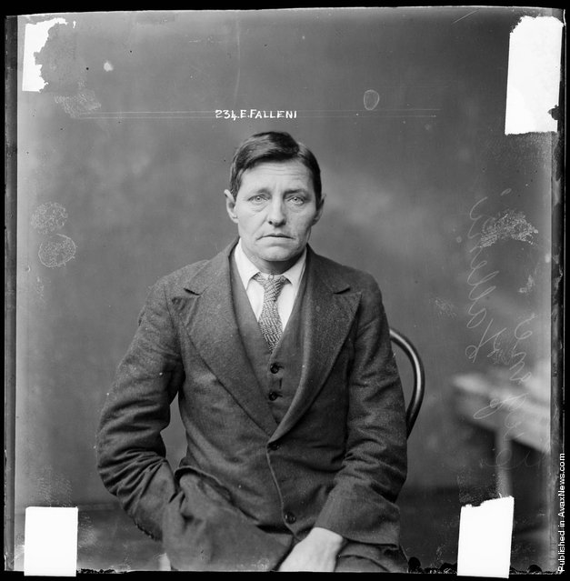 Eugenia Falleni, alias Harry Crawford, criminal record number 741LB, 16 August 1928