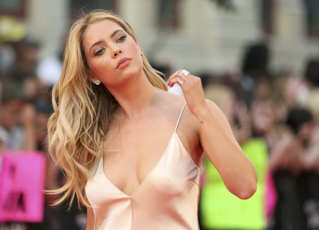 Actress Ashley Benson arrives for the iHeartRadio Much Music Video Awards (MMVAs) in Toronto, Ontario, Canada June 19, 2016. (Photo by Peter Power/Reuters)