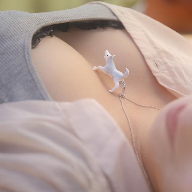Funny Necklace By Takayuki Fukusawa
