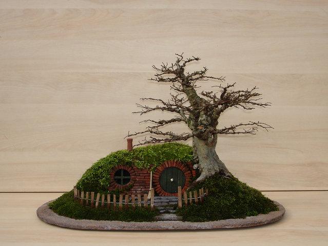 A Bonsai Baggins Hobbit Home By Chris Guise