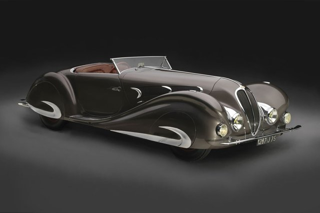 1937 Delahaye 135MS Roadster. Courtesy of The Revs Institute for Automotive Research @ the Collier Collection. (Photo by Peter Harholdt)