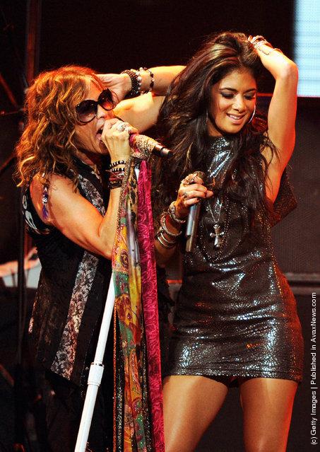 iHeartRadio Music Festival, Steven Tyler, Nicole Scherzinger