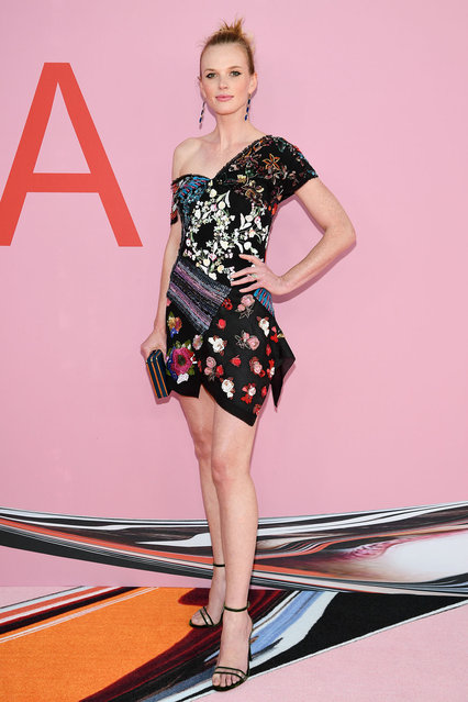 Anne V attends the CFDA Fashion Awards at the Brooklyn Museum of Art on June 03, 2019 in New York City. (Photo by Dimitrios Kambouris/Getty Images)