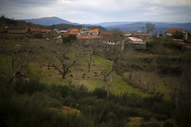 General view of Povoa de Agracoes near Chaves, Portugal, April 18, 2016. (Photo by Rafael Marchante/Reuters)