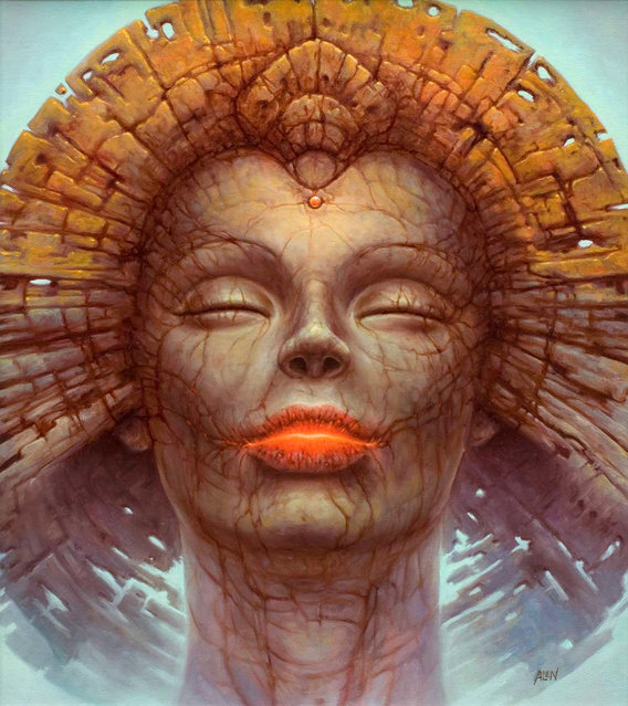 Surrealist Painting By Tomasz Alen Kopera