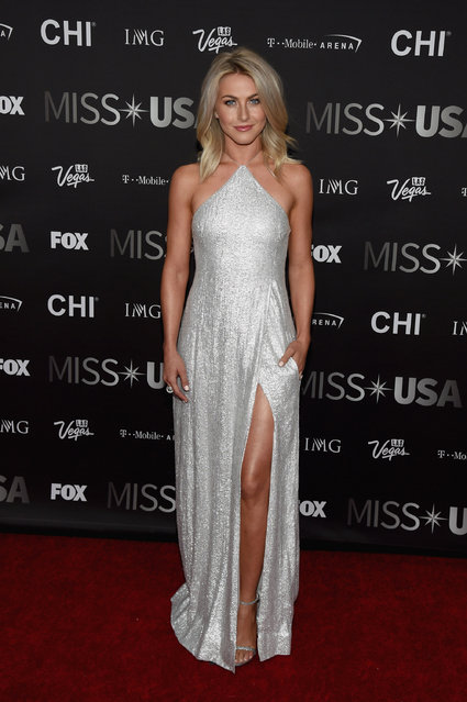 Dancer and host Julianne Hough attends the 2016 Miss USA pageant at T-Mobile Arena on June 5, 2016 in Las Vegas, Nevada. (Photo by Ethan Miller/Getty Images)