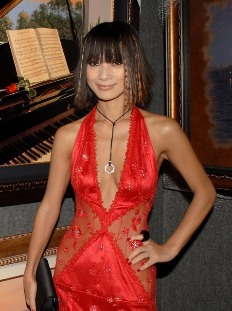 Actress Bai Ling attends the VIP Reception at the 14th Annual Diversity Awards Gala held at the Century Plaza Hotel on November 19, 2006 in Los Angeles, California.  (Photo by Stephen Shugerman)