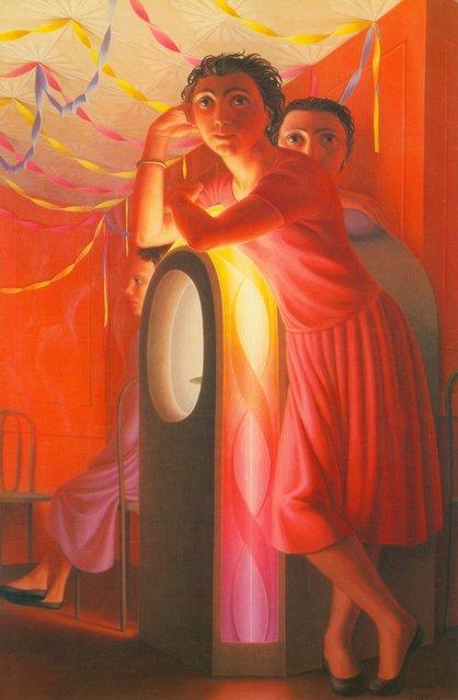 Julebox. Artwork by George Tooker