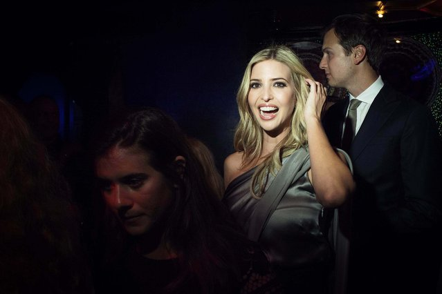 Ivanka Trump at the Diamond Horseshoe in Times Square for a party thrown by InStyle during New York Fashion Week, September 8, 2014. (Photo by Deidre Schoo/The New York Times)