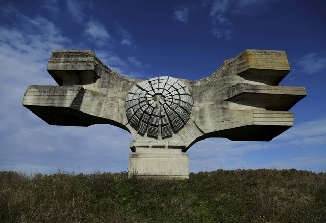 General view of a monument to the Revolution built 1967, in Podgaric, Croatia November 5, 2014. (Photo by Antonio Bronic/Reuters)