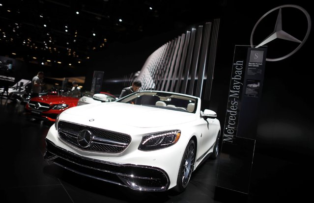 A 2018 Mercedes-Maybach S650 Cabriolet is displayed during the North American International Auto Show in Detroit, Michigan, U.S., January 10, 2017. (Photo by Mark Blinch/Reuters)