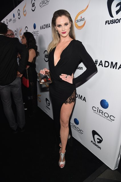 You Tube personality Nicole Arbor attends the ALL Def Movie Awards at Lure Nightclub on February 24, 2016 in Hollywood, California. (Photo by Alberto E. Rodriguez/Getty Images)