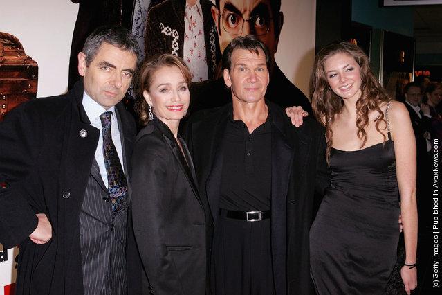 Rowan Atkinson, Kristin Scott Thomas, Patrick Swayze and Tamsin Egerton