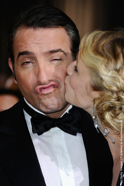 Actor Jean Dujardin arrives at the 84th Annual Academy Awards held at the Hollywood & Highland Center