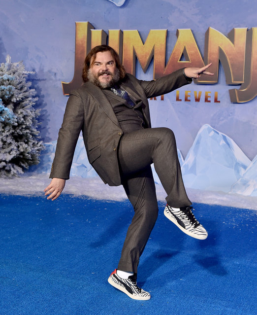 """Jack Black attends the premiere of Sony Pictures' """"Jumanji: The Next Level"""" on December 09, 2019 in Hollywood, California. (Photo by Axelle/Bauer-Griffin/FilmMagic)"""