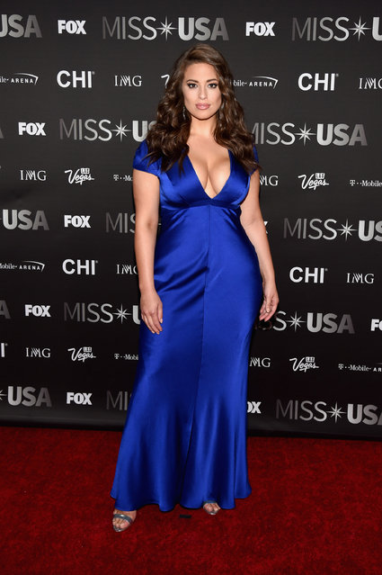 Model Ashley Graham attends the 2016 Miss USA pageant at T-Mobile Arena on June 5, 2016 in Las Vegas, Nevada. (Photo by Ethan Miller/Getty Images)