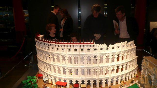 LEGO Colosseum by Ryan McNaught