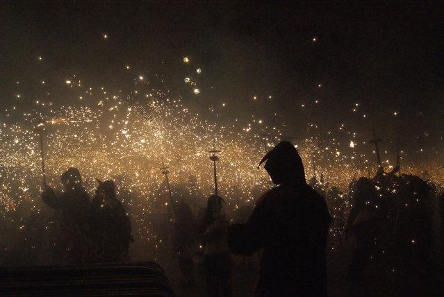 """Barcelona on Carnival in February, 2012"". (Photo and comment by Tatjana Bachmistova, Lithuania/2013 Sony World Photography Awards"