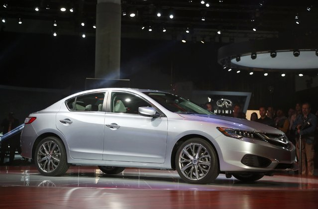 The 2016 Acura ILX is seen during its world premiere at the Los Angeles Auto Show in Los Angeles, California November 20, 2014. (Photo by Lucy Nicholson/Reuters)