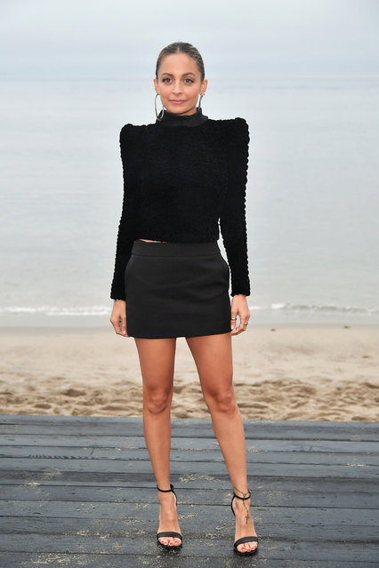 Nicole Richie attends the Saint Laurent Mens Spring Summer 20 Show on June 06, 2019 in Paradise Cove Malibu, California. (Photo by Neilson Barnard/Getty Images)