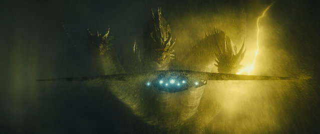 "This image released by Warner Bros. Pictures shows a scene from ""Godzilla: King of the Monsters"". (Photo by Warner Bros. Pictures via AP Photo)"