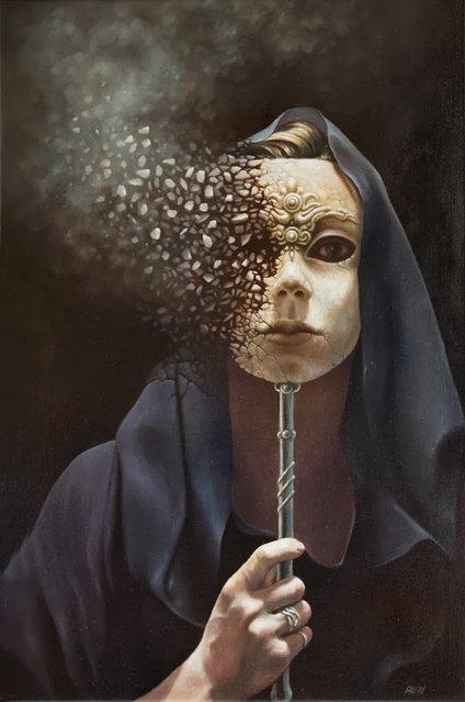 Surrealist Painting By Tomasz Alen Kopera