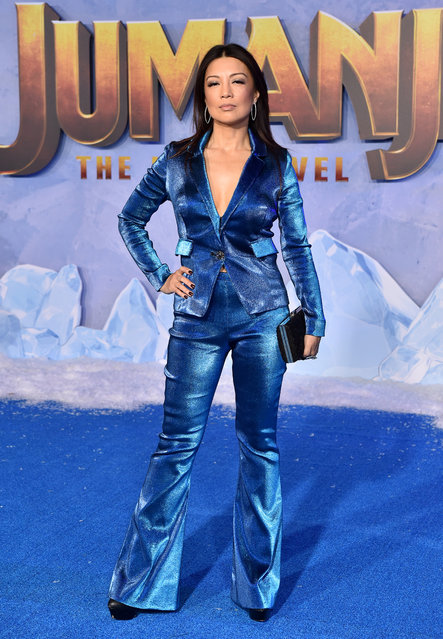 """Ming-Na Wen attends the premiere of Sony Pictures' """"Jumanji: The Next Level"""" on December 09, 2019 in Hollywood, California. (Photo by Axelle/Bauer-Griffin/FilmMagic)"""