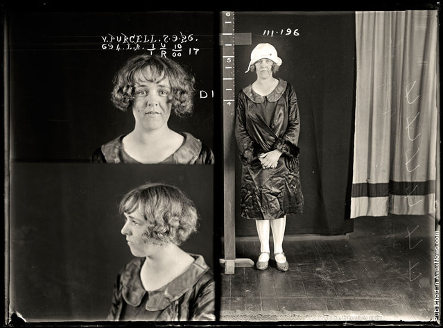 Vera Purcell, criminal record number 694LB, 7 September 1926. State Reformatory for Women, Long Bay, NSW