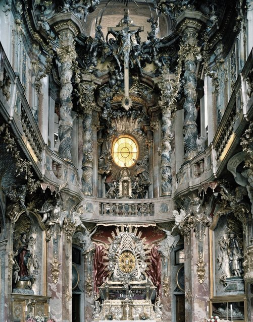 Church Altars By Cyril Porchet