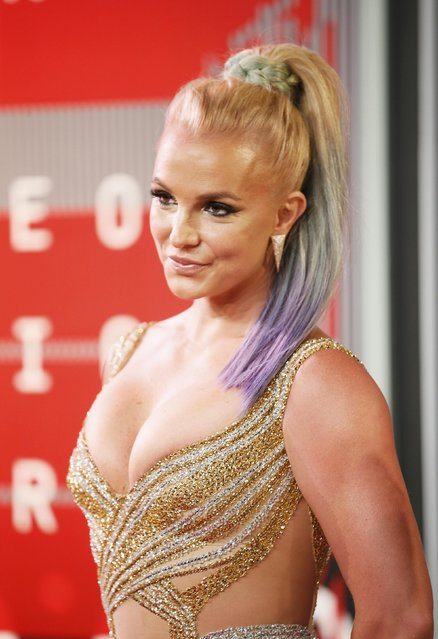 Singer Britney Spears arrives at the 2015 MTV Video Music Awards in Los Angeles, California, August 30, 2015. (Photo by Danny Moloshok/Reuters)