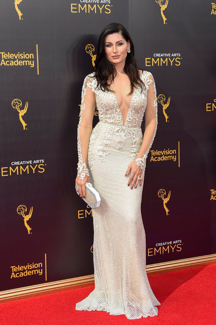 Actress Trace Lysette arrives at the Creative Arts Emmys in Los Angeles, California, U.S. September 10, 2016. (Photo by Gus Ruelas/Reuters)