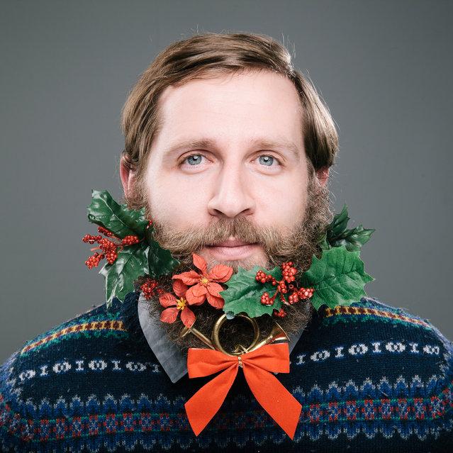 Beards Of Christmas By Stephanie Jarstad