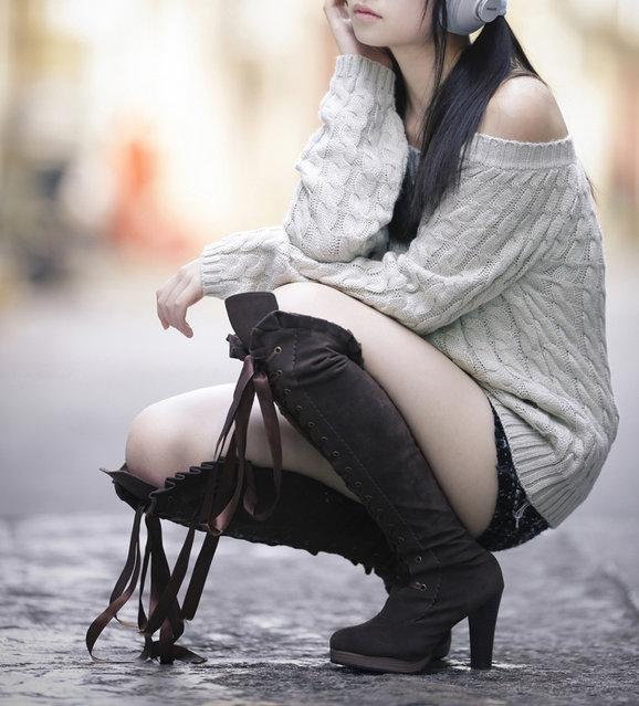Model – Angie. (Photo by Farid Aluwi)
