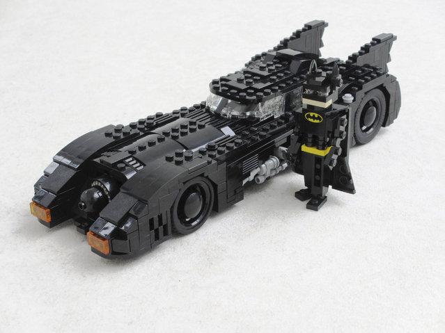 """Batman"". (Photo by Ralph Savelsberg/Caters News)"
