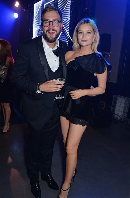 Iain Stirling (L) and Laura Whitmore attend the GQ Men of the Year Awards 2018 in association with HUGO BOSS at Tate Modern on September 5, 2018 in London, England. (Photo by David M. Benett/Dave Benett/Getty Images for Hugo Boss)