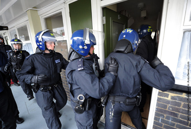 Police Arrest Riot Suspects in London