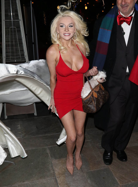 Courtney Stodden is seen on February 23, 2017 in Los Angeles, CA. (Photo by Hollywood To You/Star Max/GC Images)