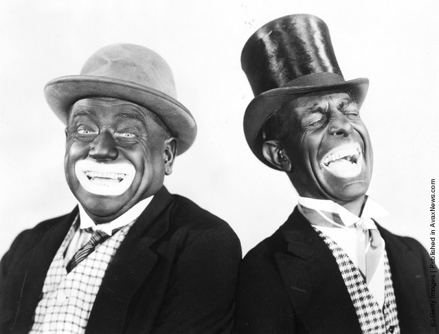 1931: Minstrel show performers Alexander and Mose