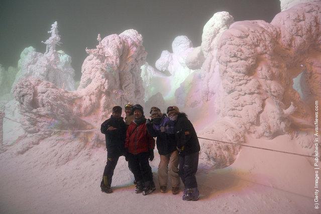 Picturesque Zao Ski Resort In Japan
