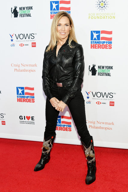 Sheryl Crow attends the 13th annual Stand Up for Heroes to benefit the Bob Woodruff Foundation at The Hulu Theater at Madison Square Garden on November 04, 2019 in New York City. (Photo by Mike Coppola/Getty Images for The Bob Woodruff Foundation)