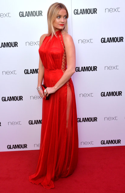 Laura Whitmore attends the Glamour Women Of The Year Awards at Berkeley Square Gardens on June 7, 2016 in London, England. (Photo by Anthony Harvey/Getty Images)