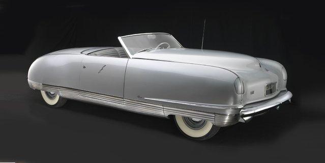 1941 Chrysler Thunderbolt. Collection of Chrysler Group, LLC. (Photo by Peter Harholdt)