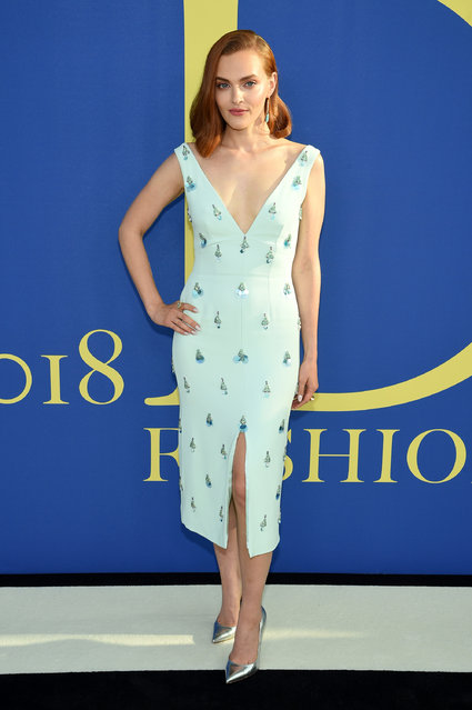 Madeline Brewer attends the 2018 CFDA Fashion Awards at Brooklyn Museum on June 4, 2018 in New York City. (Photo by Dimitrios Kambouris/Getty Images)