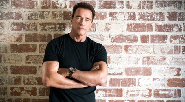 """Arnold Schwarzenegger """"I`ll be back"""""""