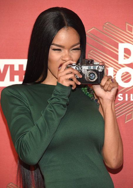 "Teyana Taylor attends VH1 Divas Holiday: ""Unsilent Night"" at Kings Theatre on Friday, December 2, 2016, in New York. (Photo by Evan Agostini/Invision/AP Photo)"