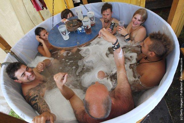 Scottish bath