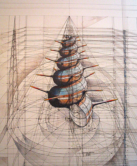 Drawn With Pencil And Pen by Rafael Araujo